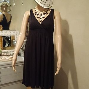 EUC American Eagle Outfitters Bl Crossover Dress
